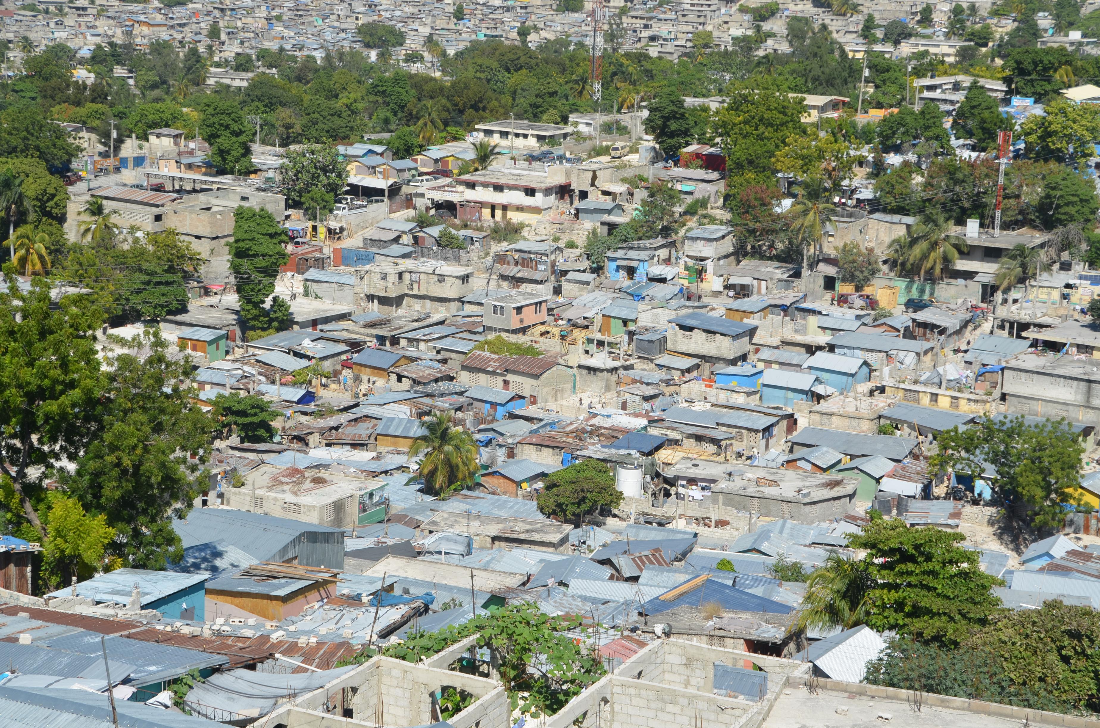 2013 Port au Prince rebuilt
