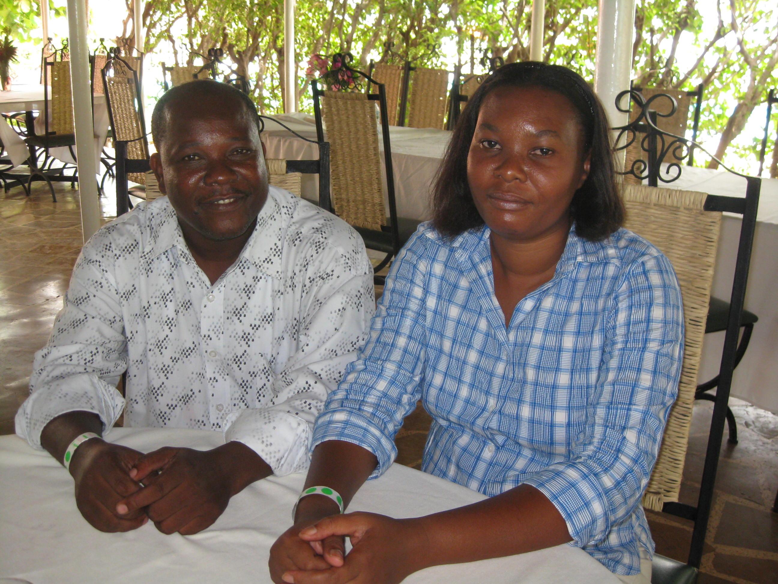 Vaudy and Zulta Jean-Baptiste
