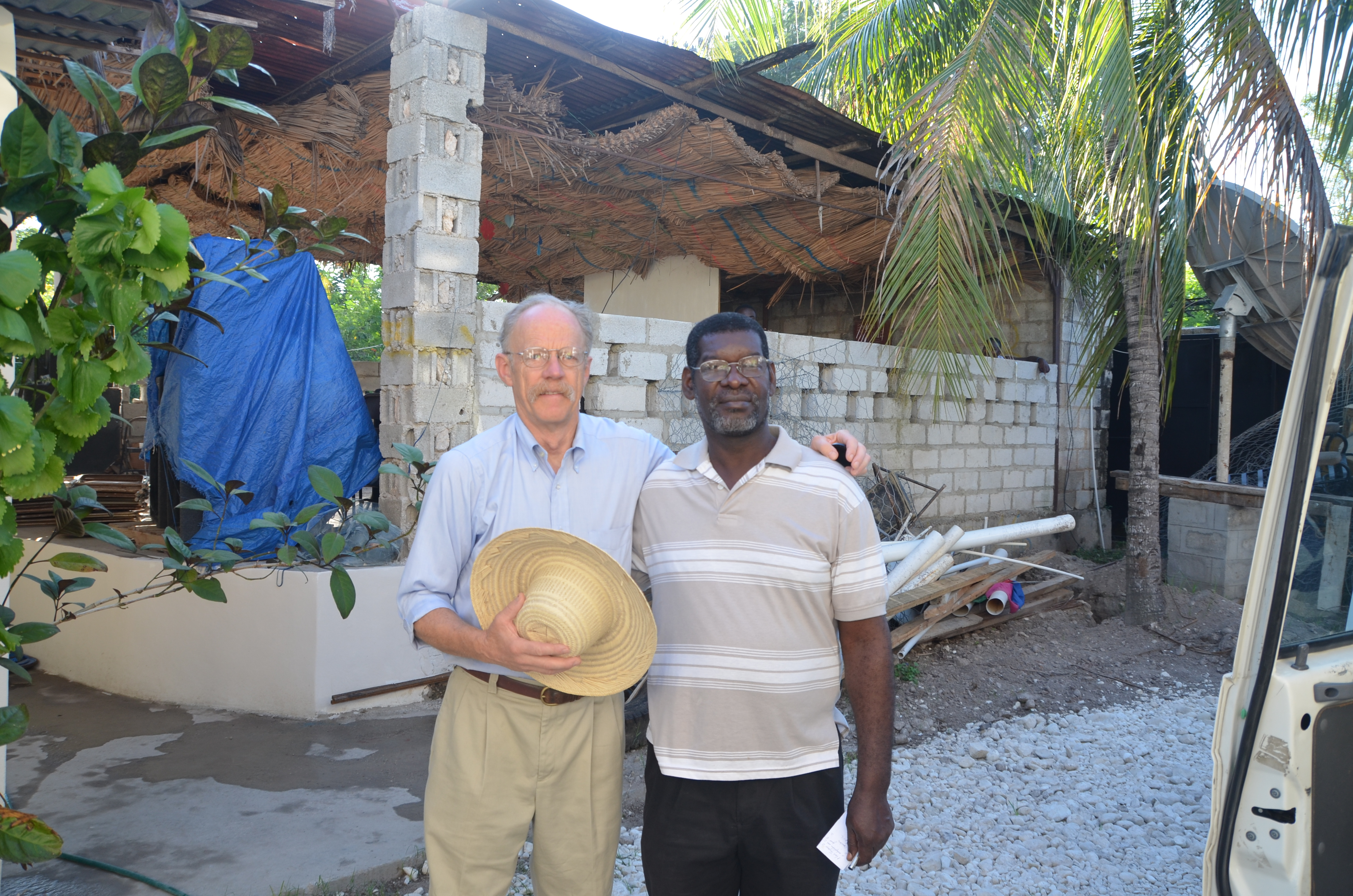 Ted and Luquece Belizaire