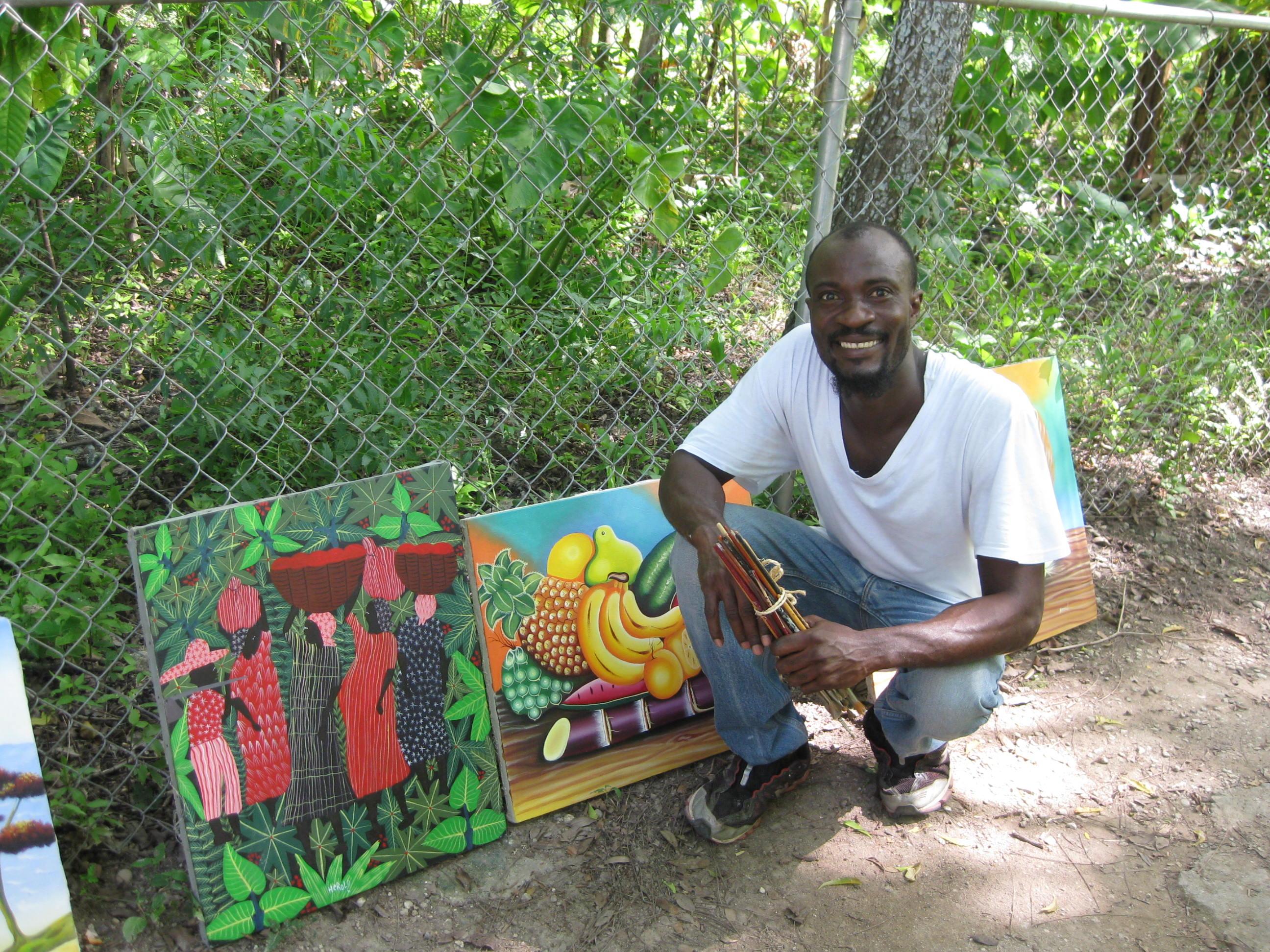 artist Herold St. Louis